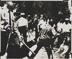 birmingham race riots [ii.3] by andy warhol